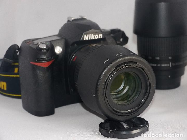 Cámara de fotos: Equipo completo, Nikon digital,D70 - Foto 8 - 216489325