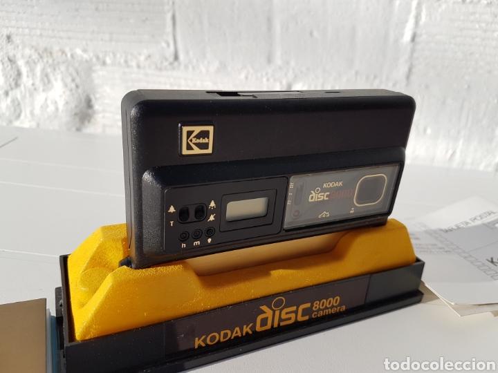 Cámara de fotos: Kodak disc 8000 antigua de 1982 aprox - Foto 2 - 216518232