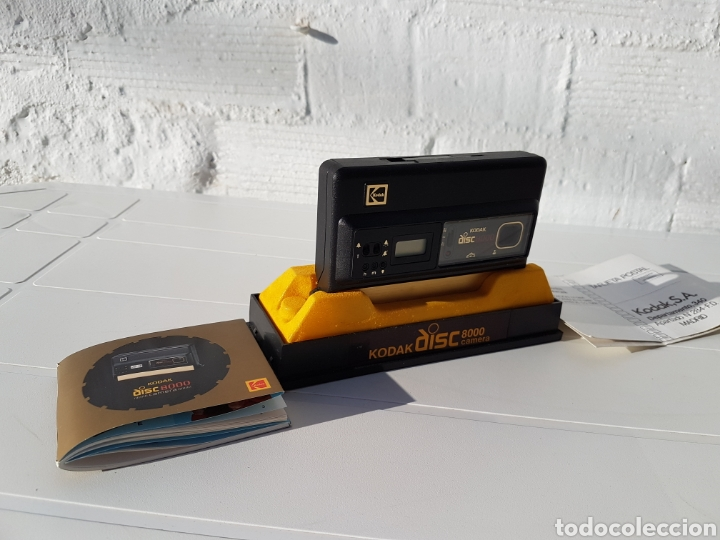 Cámara de fotos: Kodak disc 8000 antigua de 1982 aprox - Foto 4 - 216518232