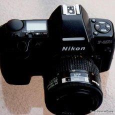 Cámara de fotos: NIKON 801S + ZOOM 35-70,METAL MOUNT.F/3,5-4,5.. Lote 217344497