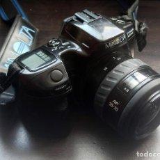 Cámara de fotos: MINOLTA DINAX 500SI + 35-70 4.5 AF - CÁMARA SLR 35MM - NEGATIVO - BUEN ESTADO. Lote 218585225