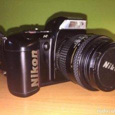 Cámara de fotos: CÁMARA DE FOTOS NIKON F-401S OBJETIVO 35-70MM.RÉFLEX EN PERFECTO ESTADO.. Lote 220647523