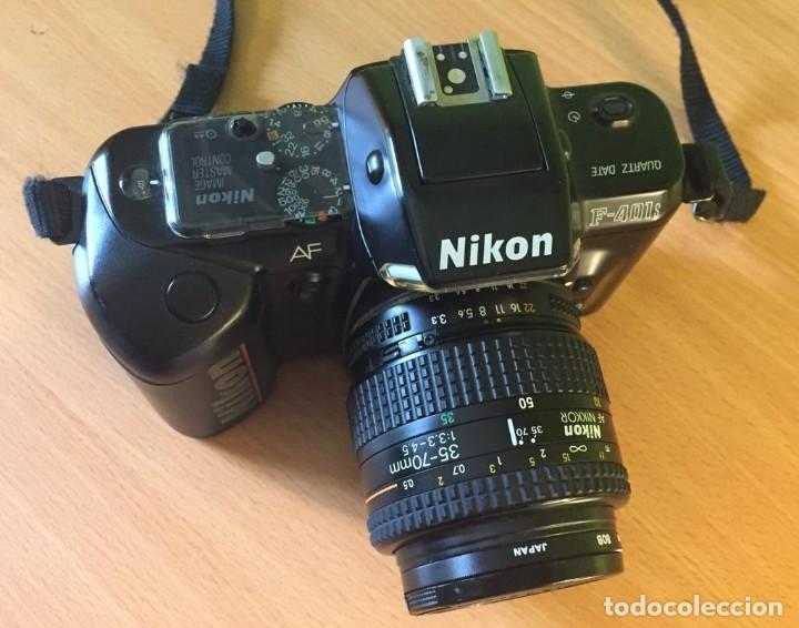 Cámara de fotos: CÁMARA DE FOTOS NIKON F-401S OBJETIVO 35-70MM.RÉFLEX EN PERFECTO ESTADO. - Foto 2 - 220647523