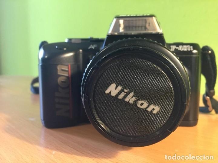 Cámara de fotos: CÁMARA DE FOTOS NIKON F-401S OBJETIVO 35-70MM.RÉFLEX EN PERFECTO ESTADO. - Foto 3 - 220647523