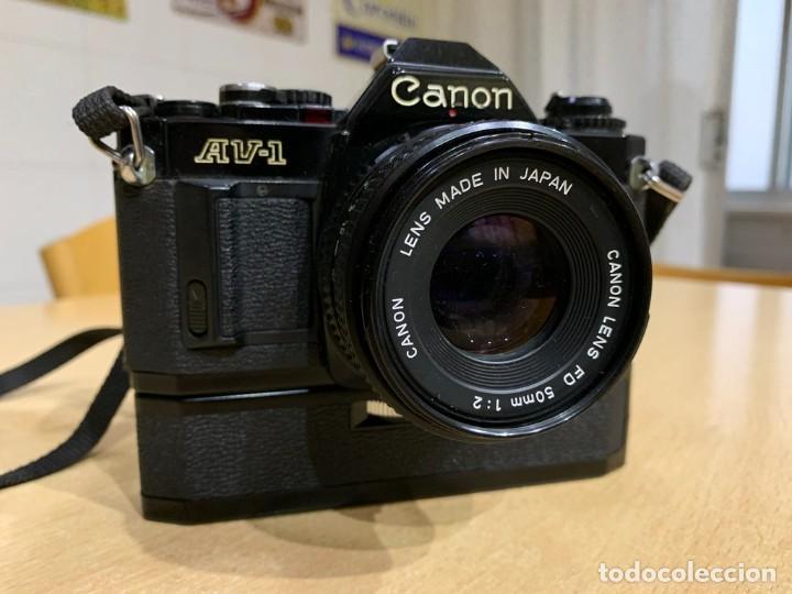 CANON AV 1 CON MOTOR (Cámaras Fotográficas - Réflex (autofoco))