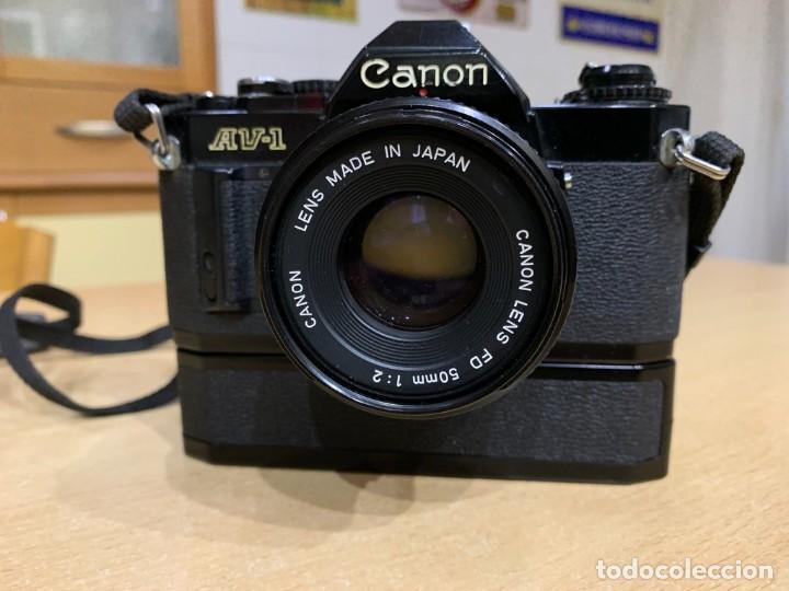 Cámara de fotos: CANON AV 1 CON MOTOR - Foto 2 - 220810776