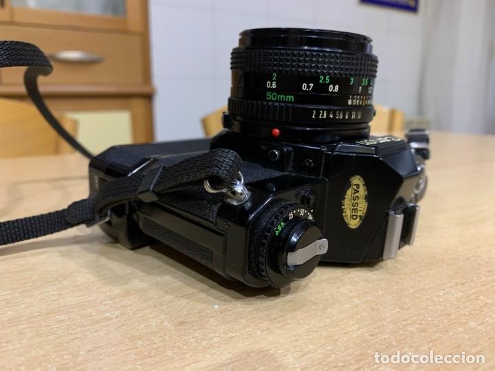 Cámara de fotos: CANON AV 1 CON MOTOR - Foto 3 - 220810776