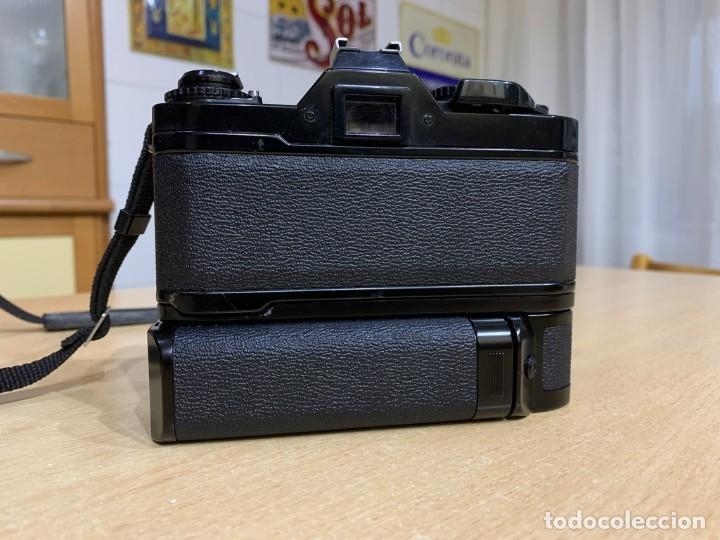 Cámara de fotos: CANON AV 1 CON MOTOR - Foto 4 - 220810776