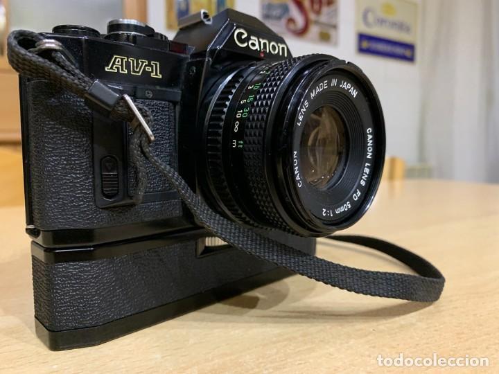 Cámara de fotos: CANON AV 1 CON MOTOR - Foto 5 - 220810776
