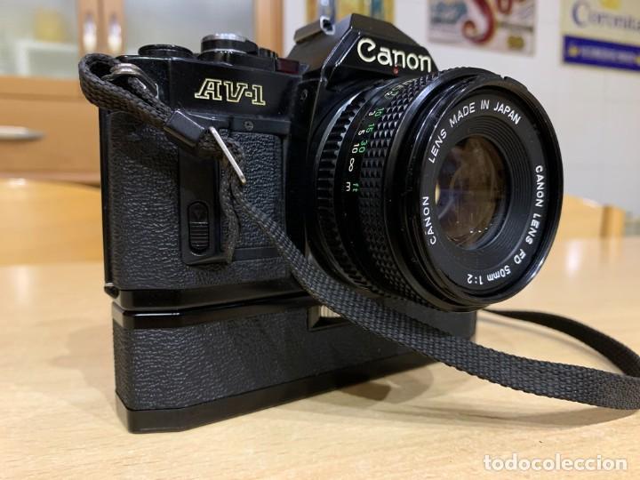 Cámara de fotos: CANON AV 1 CON MOTOR - Foto 6 - 220810776