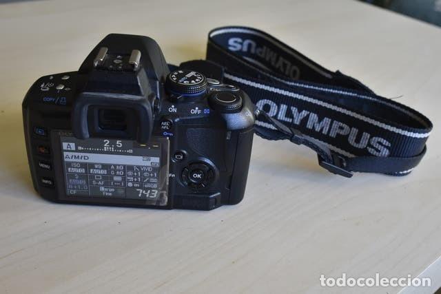 Cámara de fotos: Cámara Digital Olympus E420 + Objetivo Zuico 14-42 mm + accesorios - Foto 5 - 221445177