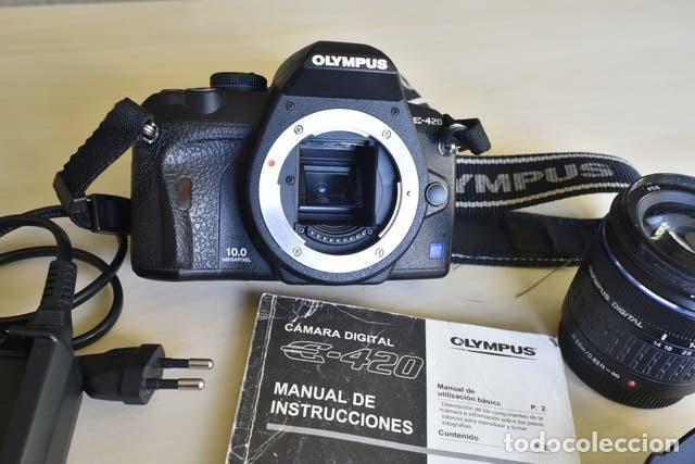 Cámara de fotos: Cámara Digital Olympus E420 + Objetivo Zuico 14-42 mm + accesorios - Foto 6 - 221445177