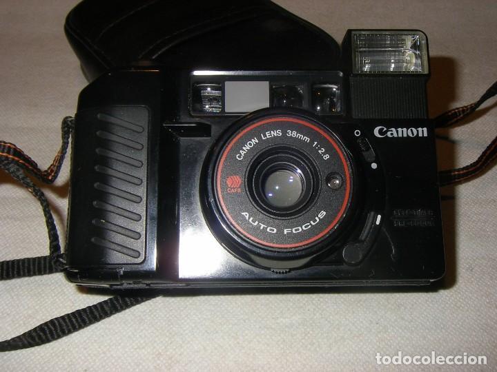 Cámara de fotos: Cámara fotográfica Canom AF35M II, auto- focus, funcionando. - Foto 4 - 221619846