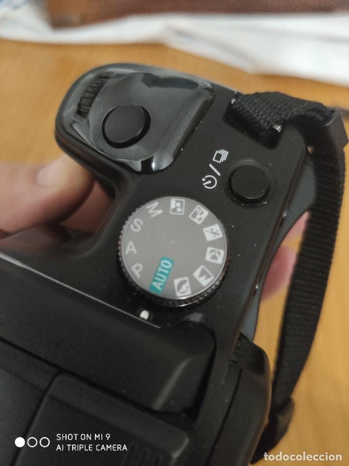 Cámara de fotos: CÁMARA SONY ALFA 100,CON SU ESTUCHE, INSTRUCCIONES, ETC, PERFECTO ESTADO. - Foto 7 - 222261352