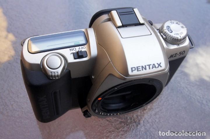 Cámara de fotos: Pentax MZ 50 AF. Impecable.sin signos de uso. - Foto 2 - 222361702