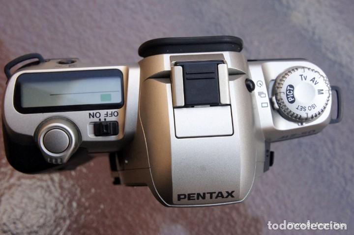 Cámara de fotos: Pentax MZ 50 AF. Impecable.sin signos de uso. - Foto 3 - 222361702