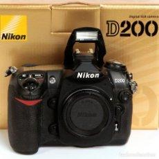 Cámara de fotos: NIKON D200 DIGITAL - ¡PROFESIONAL¡. Lote 37317922