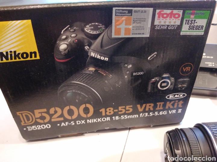 Cámara de fotos: CÁMARA DE FOTOS NIKON D5200 MÁS OBJETIVO AF S 18_55 CON ACCESORIOS. Y MÁS... - Foto 11 - 224606831