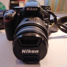 Cámara de fotos: CÁMARA DE FOTOS NIKON D5200 MÁS OBJETIVO AF S 18_55 CON ACCESORIOS. Y MÁS.... Lote 224606831