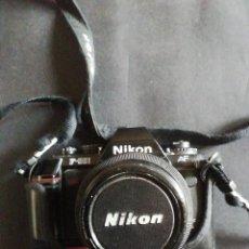 Cámara de fotos: CÁMARA DE FOTOS NIKON F-501 AF. Lote 225121543