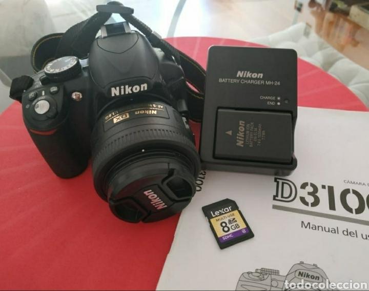 NIKON D3100 (Cámaras Fotográficas - Réflex (autofoco))