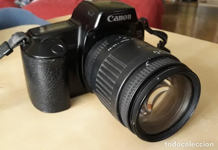 CANON EOS 1000 F CON OBJETIVO SIGMA (Cámaras Fotográficas - Réflex (autofoco))