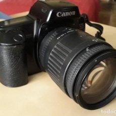 Cámara de fotos: CANON EOS 1000 F CON OBJETIVO SIGMA. Lote 225610885