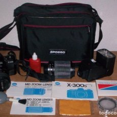 Cámara de fotos: MINOLTA X-300-S+OBJETIVO 28-70MM. Lote 227750745