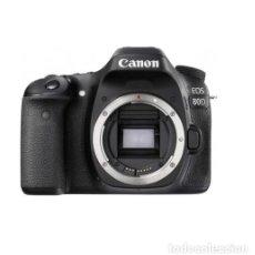 Cámara de fotos: CAMARA REFLEX CANON EOS 80D (CUERPO) - NUEVA SENSOR CMOS APS-C DE 24,2 MP, WI-FI, NFC.. Lote 228187090