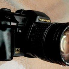 Cámara de fotos: CAMARA DIGITAL OLYMPUS E20.REFLEX CON ZOOM ZUIKO CRISTAL ED.. Lote 229385115