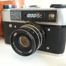 Cámara de fotos: CAMARA DE FOTOS FED 5-URSS. Lote 232354800