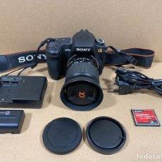 Cámara de fotos: SONY CAMARA REFLEX DIGITAL DSLR-A350 OBJETIVO 18-70. Lote 232607885