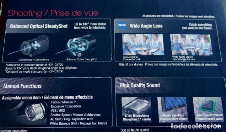 Cámara de fotos: Sony HDR-PJ740VE Full HD-AVCHD .En Caja COMO NUEVA. - Foto 9 - 233675640