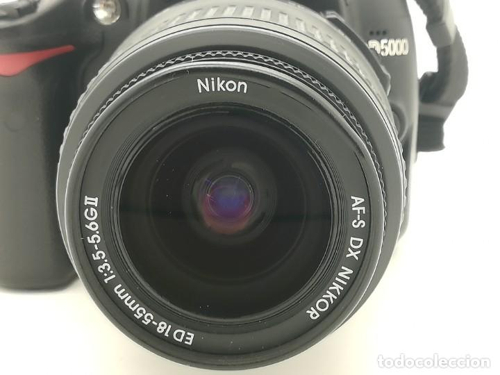 Cámara de fotos: Cámara Reflex digital Nikon D5000 12,3 MP + Objetiv 18-55mm + Funda de segunda mano - Foto 5 - 234856370