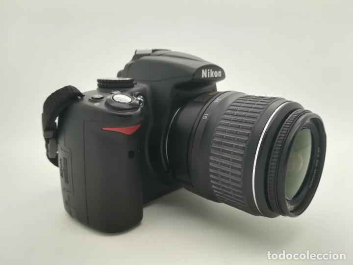 Cámara de fotos: Cámara Reflex digital Nikon D5000 12,3 MP + Objetiv 18-55mm + Funda de segunda mano - Foto 7 - 234856370