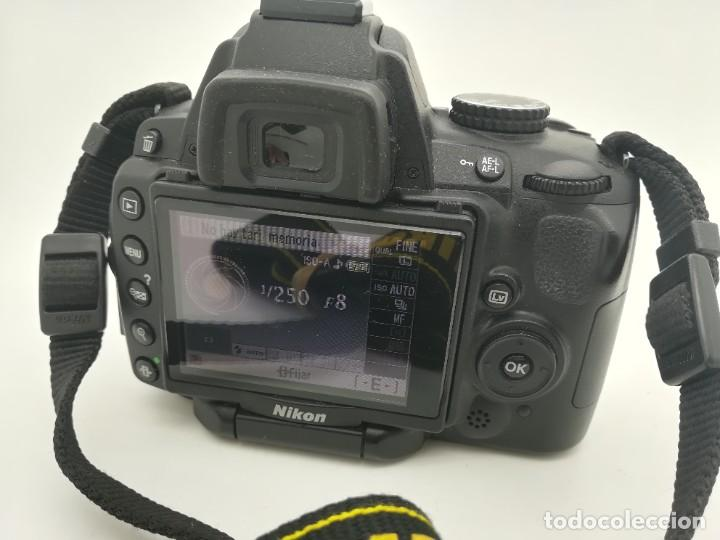 Cámara de fotos: Cámara Reflex digital Nikon D5000 12,3 MP + Objetiv 18-55mm + Funda de segunda mano - Foto 9 - 234856370