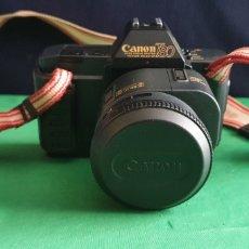 Cámara de fotos: CAMARA CANON T80 ZOOM LENS AC 35-70MM JAPON. Lote 235294490