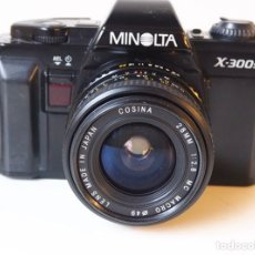 Cámara de fotos: CÁMARA MINOLTA SET X- 300S. Lote 235402195