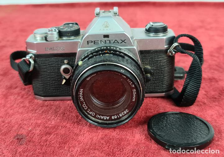CAMARA FOTOGRAFICA PENTAX MODELO MX. SLR 35 MM. JAPÓN. CIRCA 1970. (Cámaras Fotográficas - Réflex (autofoco))