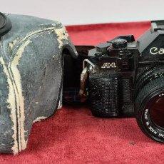 Cámara de fotos: CAMARA FOTOGRAFICA CANON MODELO A1. SLR. 35 MM. LENTE CANON. CIRCA 1980.. Lote 235962635