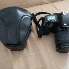 Cámara de fotos: NIKON F70 Y OBJETIVO NIKON AF NIKKOR 28-80. Lote 236324130