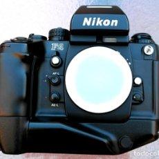 Cámara de fotos: NIKON F4 S.IMPECABLE. FUNCIONA PERFECTA.. Lote 236330255