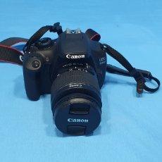 Cámara de fotos: CÁMARA DE FOTOS CANON EOS 1200D. Lote 238382045