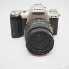 Cámara de fotos: PENTAX MZ-50 + PENTAX 35-105MM 1:4-5,6. Lote 242949145