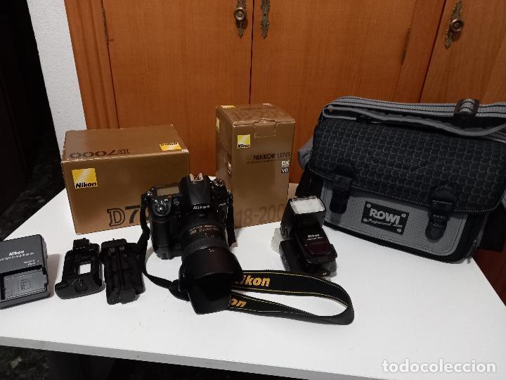 EQUIPO COMPLETO FOTOGRAFICO CON MUY POCO USO NIKON D 7000 (Cámaras Fotográficas - Réflex (autofoco))