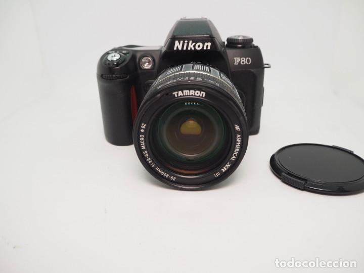 NIKON F80 + TAMRON 28-200MM 1:3,8-5,6 (Cámaras Fotográficas - Réflex (autofoco))
