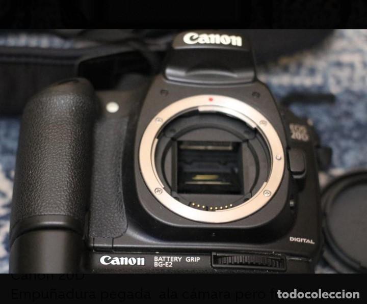 CAMARA DE FOTOS CANON 20 D (Cámaras Fotográficas - Réflex (autofoco))