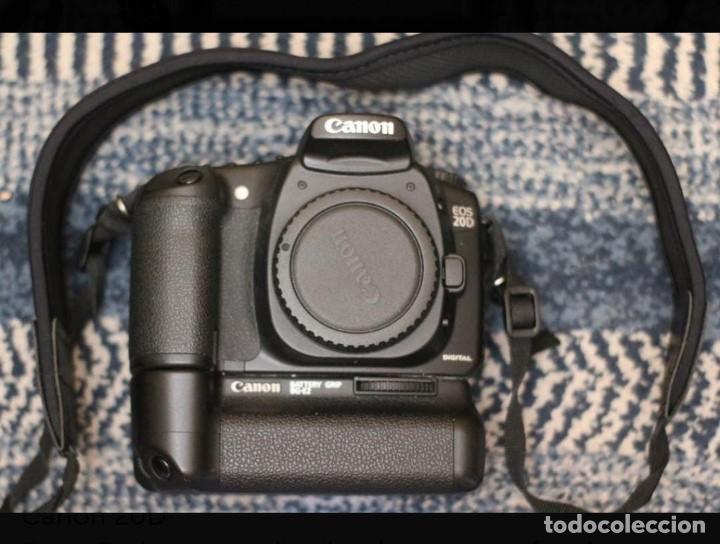 Cámara de fotos: CAMARA DE FOTOS CANON 20 D - Foto 2 - 244925140
