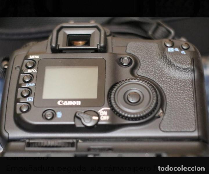 Cámara de fotos: CAMARA DE FOTOS CANON 20 D - Foto 3 - 244925140
