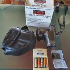 Cámara de fotos: CAMARA DIGITAL OLYMPUS CAMEDIA C-1400L, INCLUYE CARGADOR. UNA DE LAS PRIMERAS DIGITALES. Lote 248487780